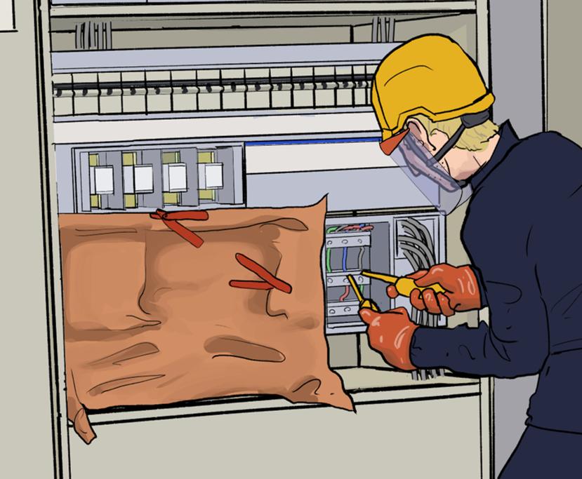 Sähkötyöturvallisuuskortti vaaditaan kaikilta sähkötöitä tekeviltä henkilöiltä.