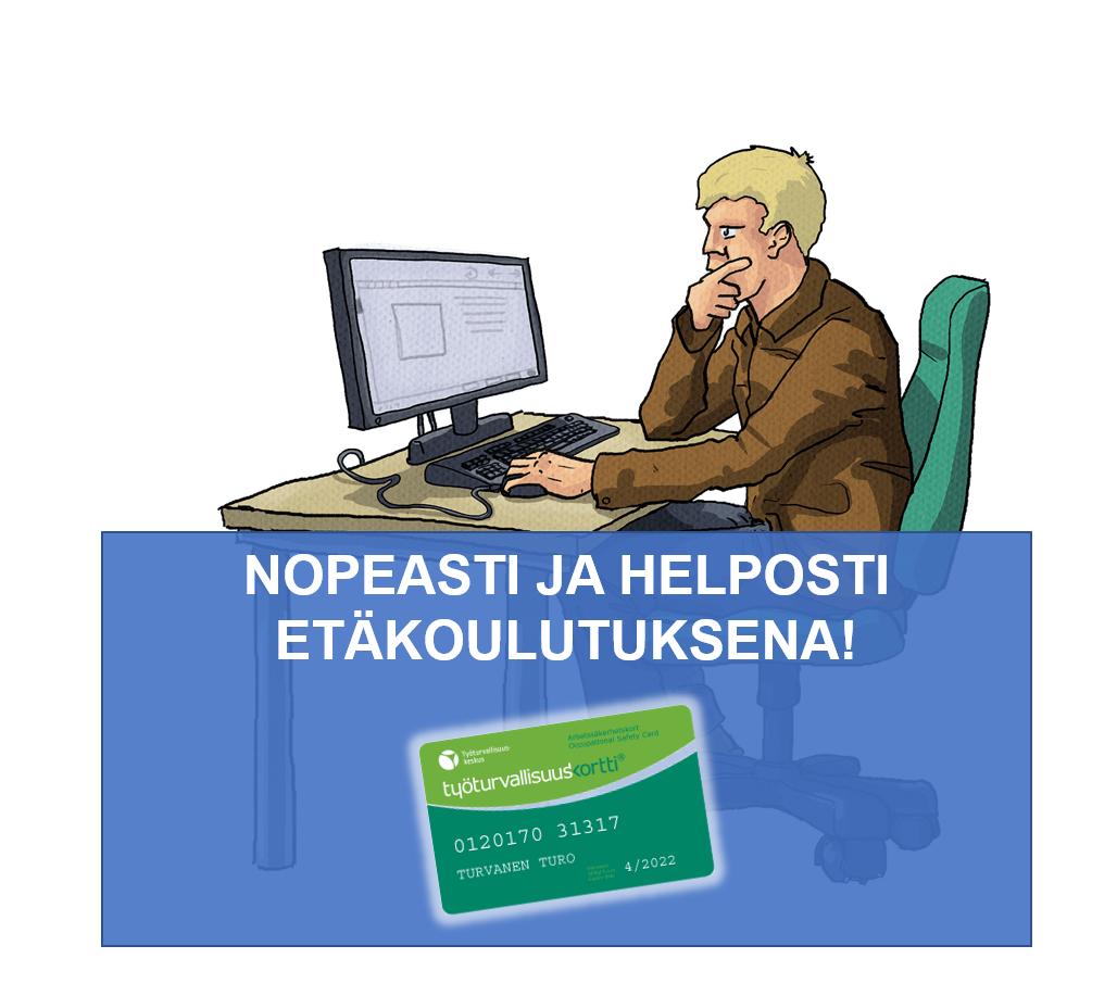 Työturvakortti netissä
